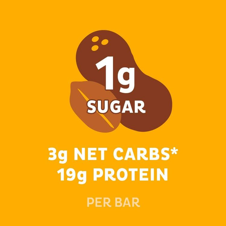 Chocolate Peanut Butter Hero Quest Nutrition Protein Bar, High Protein, Low Carb, Gluten free, 10-count (10888849010957)