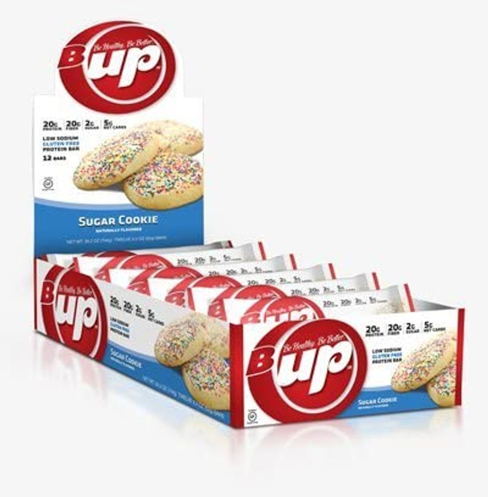 B-UP Protein/Nutritional Bar, Vanilla Peanut Butter, 2.2oz- 12 Count