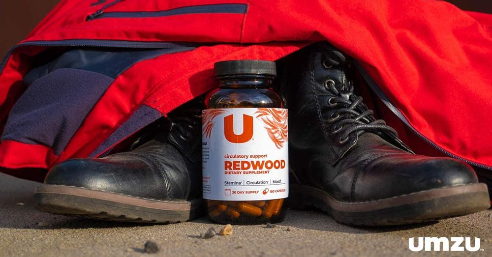 UMZU: Redwood, Nitric Oxide Booster Capsules - 30 Day Supply - N.O. Supplement for Circulatory Support