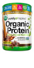 Purely Inspired Organic Protein Powder, 20g of Plant-Based Protein for Women and Men, Probiotic, Vegan Friendly Shake, Non-GMO, Gluten Free, Dairy Free, Decadent Chocolate, 1.5 Pounds (18 Servings)