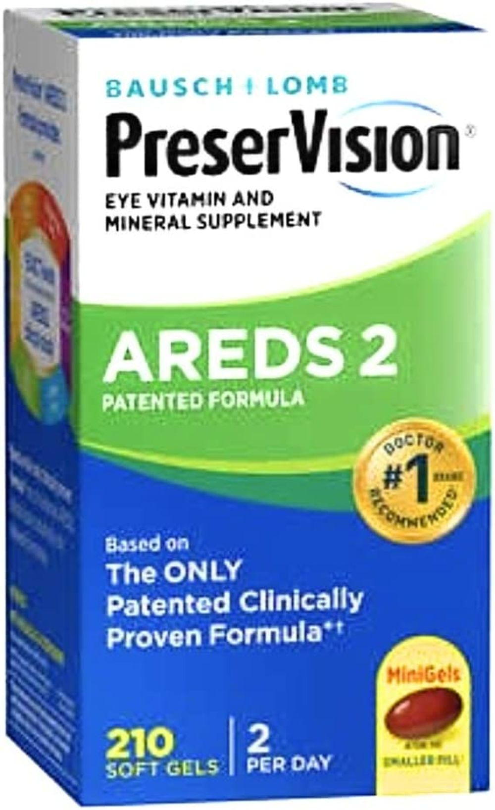 PreserVision AREDS 2 - New MiniGels for Easier Swallow