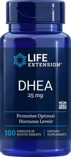 Life Extension DHEA 25 Mg, 100 Tablets (Dissolve in the mouth)
