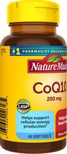 Nature Made CoQ10 200 mg Softgels, 40 Count for Heart Health† (Packaging May Vary)