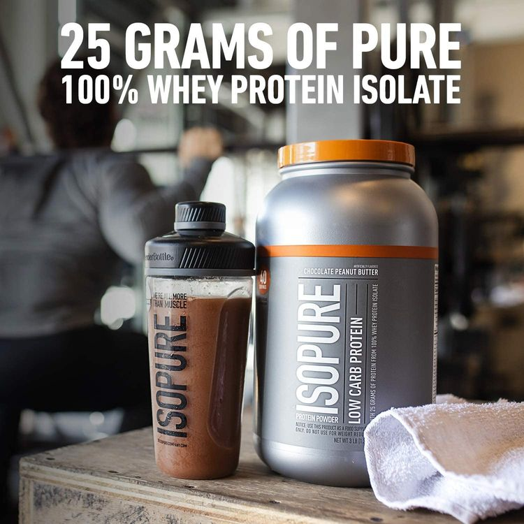 Isopure Zero Carb, Vitamin C and Zinc for Immune Support, 25g Protein, Keto Friendly Protein Powder, 100% Whey Protein Isolate, Flavor: Alpine Punch, 3 Pounds (Packaging May Vary)