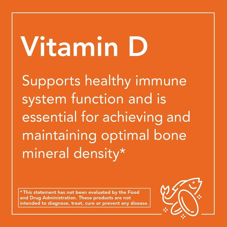 NOW Foods Supplements, Vitamin D-3 2,000 IU, High Potency, Structural Support, 240 Softgels