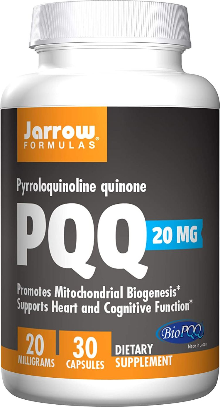 Jarrow Formulas Pyrroloquinoline Quinone, Supports Heart and Cognitive Function, 20 mg, 30 Caps