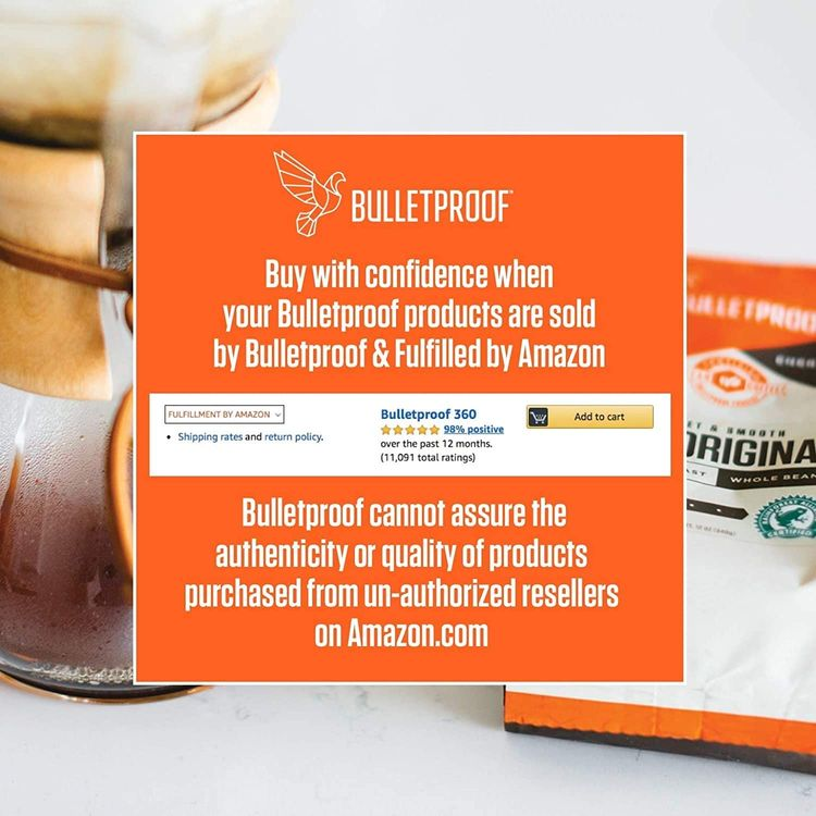 Bulletproof Collagen Protein Powder, Unflavored, 17.6 Oz, Grass Fed Collagen Peptides and Amino Acids for Healthy Skin, Bones and Joints, Keto Friendly, 18g Protein