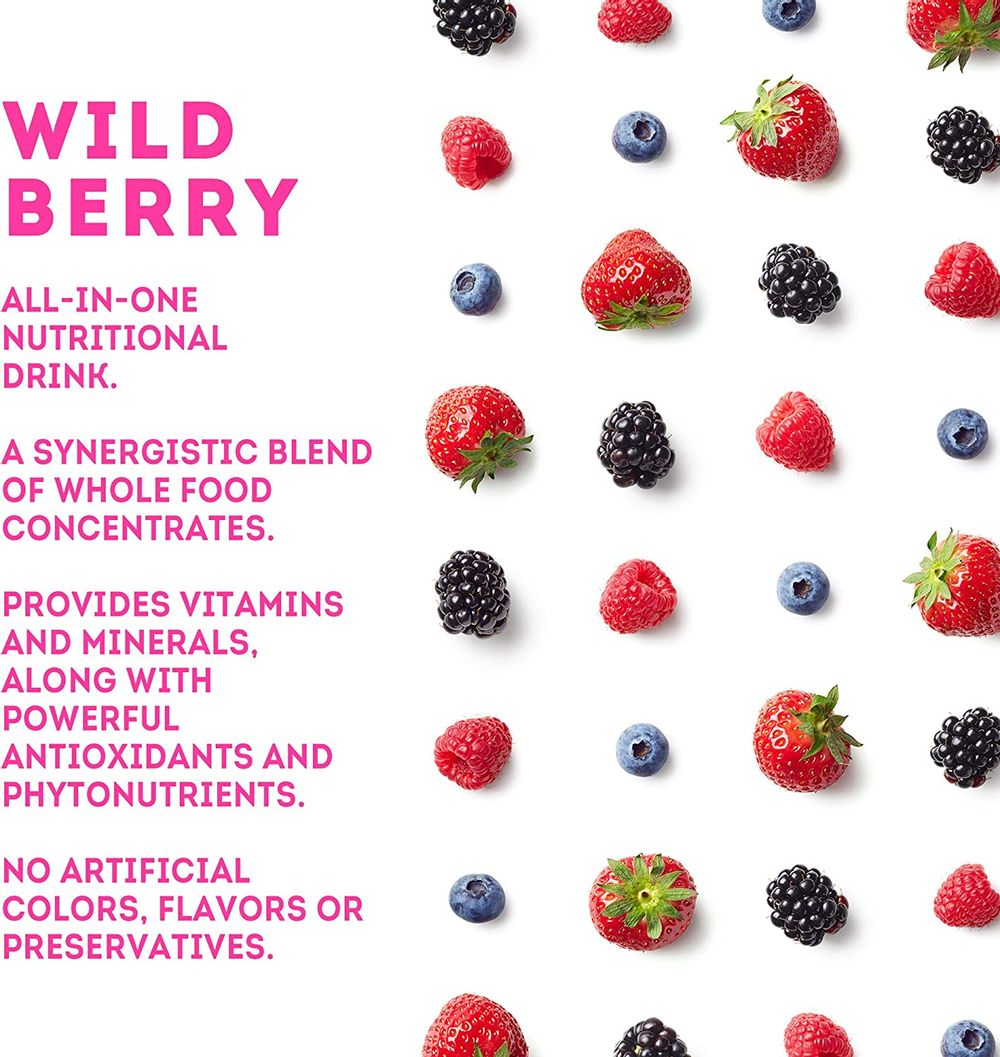 Zurvita Zeal for Life 30-Day Wellness Canister, 420 Grams, Wild Berry