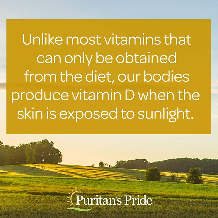Vitamin D3 10,000 IU Bolsters Immune Health by Puritan's Pride of Immune System Support and Healthy Bones and Teeth 100 Softgels