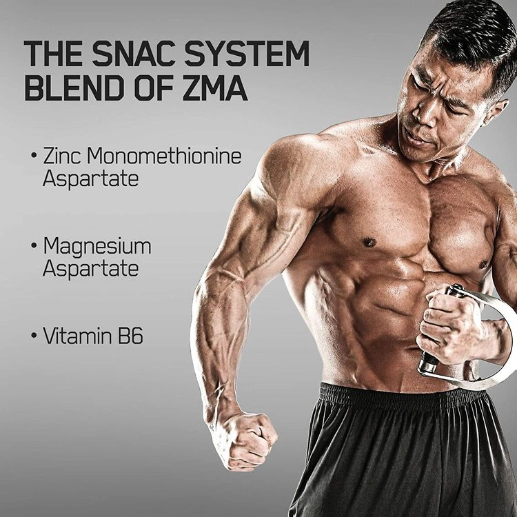 Optimum Nutrition ZMA Zinc for Immune Support, Muscle Recovery and Endurance Supplement for Men and Women, Zinc and Magnesium Supplement, 90 Count (Packaging May Vary)