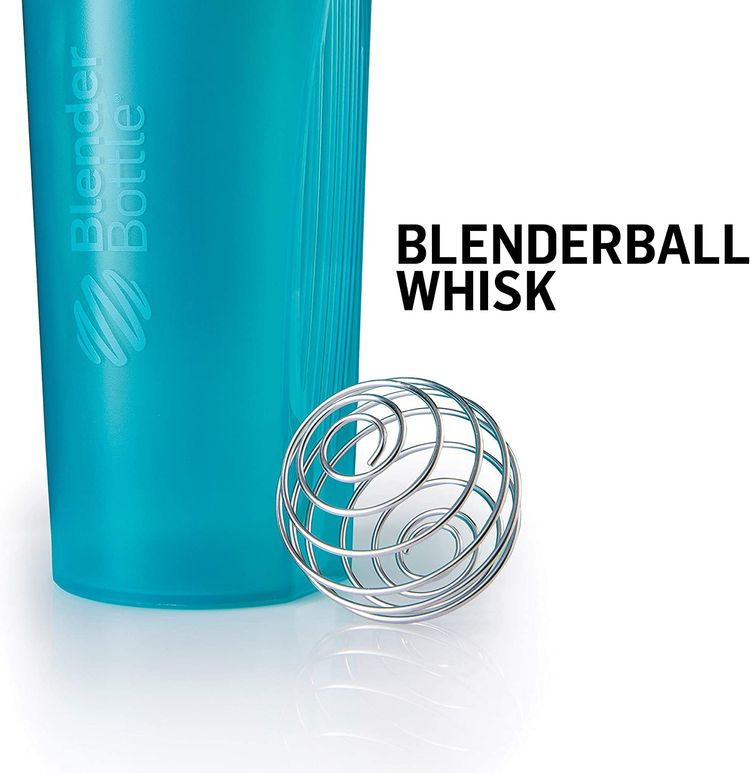 BlenderBottle Just for Fun Classic 28-Ounce Shaker Bottle, After This, Pizza