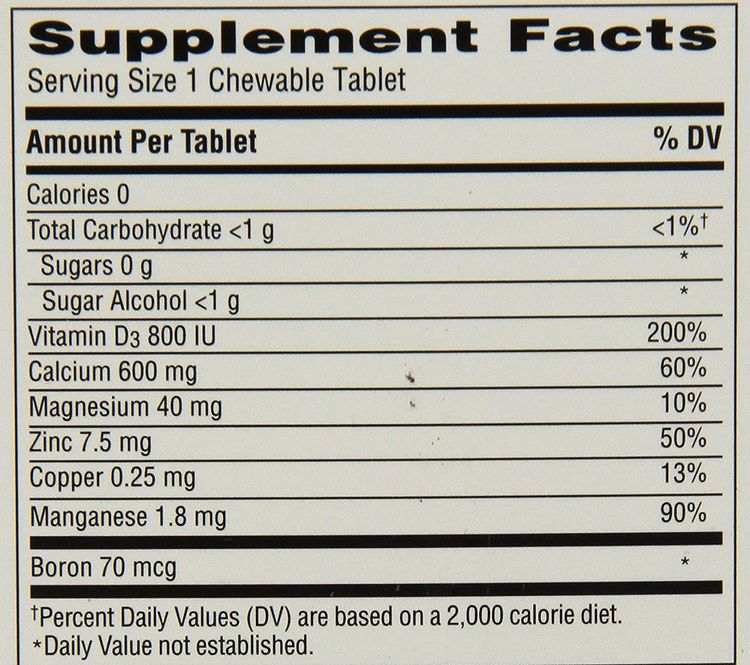Caltrate 600+D3 Plus Minerals (Cherry, Orange, and Fruit Punch, 60 Count) Calcium & Vitamin D3 Chewable Supplement, 600mg