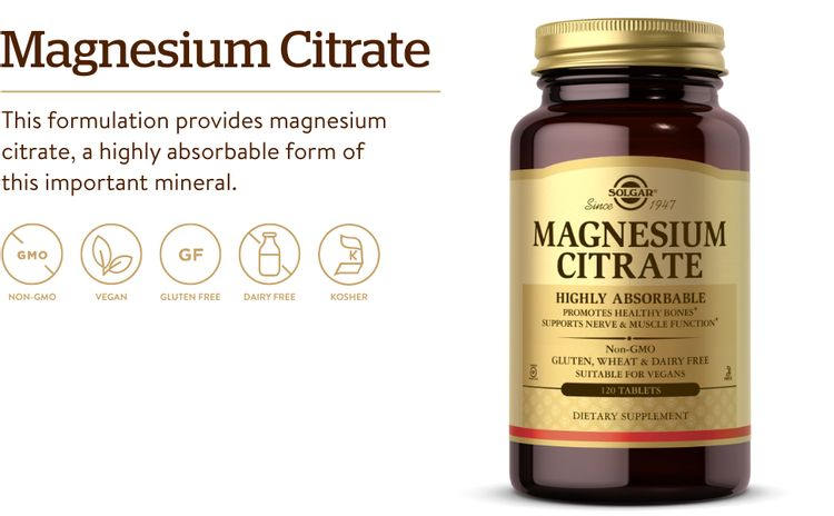 Promotes Healthy Bones - Supports Nerve & Muscle Function