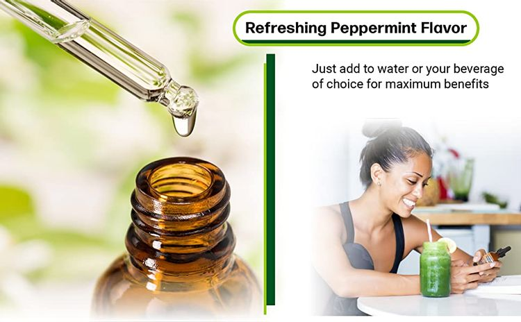 refreshing peppermint flavor