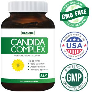 Candida Complex from Healths Harmony - Non GMO - Made in the USA