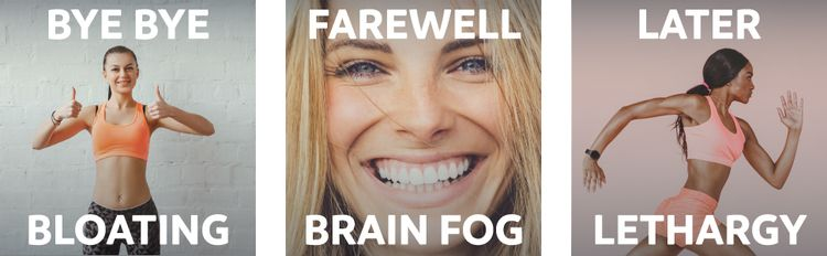 Natural candida treatment - no bloating, more energy, less brain fog