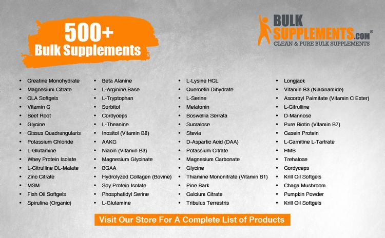 BulkSupplements.com Other Products