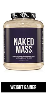 naked mass gainer