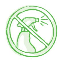 Gaia Herbs Icon Image Representing Our Commitment to Clean Ingredients, no pesticides/herbicides