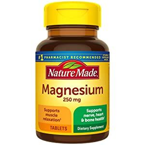 Nature Made Magnesium 250 mg Tablets