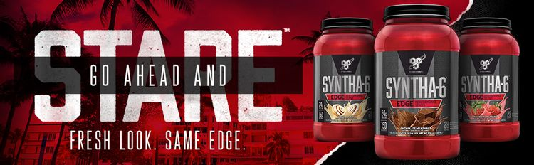 SYNTHA-6 EDGE is a synthesis of premium proteins designed to give your muscles the protein they need