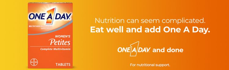 Eat well and add one a day