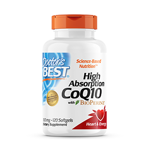 High Absorption CoQ10 Restore CoQ10 that may be depleted by aging of statin medication energy heart