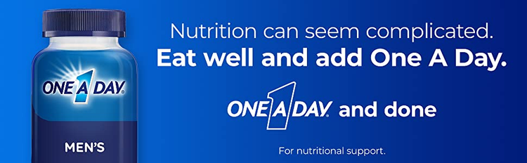 men's one a day nutrition