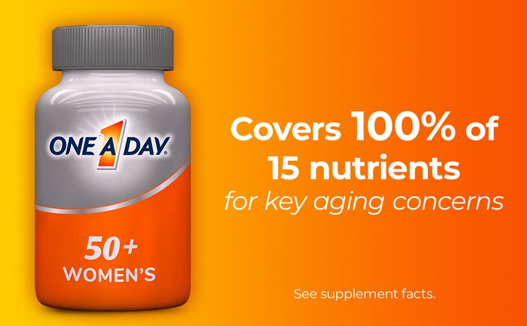 nutrition one a day women's 50+