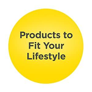 Products to fit your lifestyle