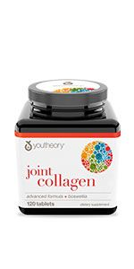 Joint Collagen Advanced with Boswellia, 120 Tablets inflammation pain